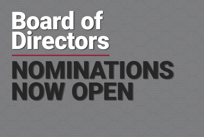 board of directors nominations text
